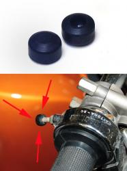 Throttle Stop Rubber - fits Tommaselli Daytona 2C