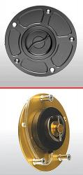 ACCOSSATO Rapid Fuel Cap - Fits All Modern Ducati With Round Cap - 851, 888, 750, 900SS, XX8, 1098, Desmosedici....