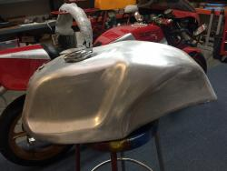 Gas Tank - Aluminum NCR Type Fits Super Sports etc