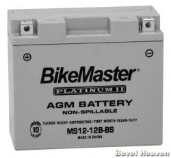 Battery - MS12-12B-BS AGM - Most Modern Ducati Twins