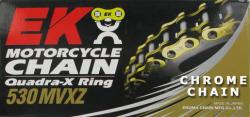 Chain: EK 530 MVXZ Quadra-X Ring - Show Chrome