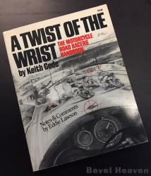 Book: A Twist Of The Wrist by Keith Code