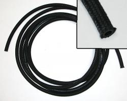 Fuel Hose - Black Woven Fabric Type