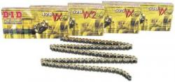 Chain - DID 530 VX Gold & Black X-Ring, 110 Pins